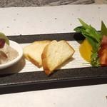 鉄板焼きレストラン 道 - 料理写真:オードブル