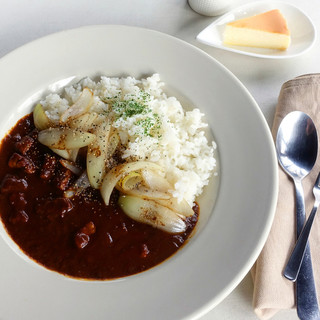 チーズガーデン五峰館 - 料理写真:塩原オニオンカレー