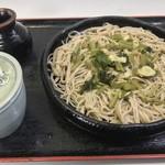 麺元 田舎家 - 安曇野 葉わさび蕎麦