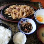 桂月 - 料理写真:十和田バラ焼き