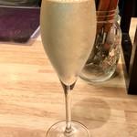 オリエンタル ビストロ アガリコ - なみなみスパークリング  グラス