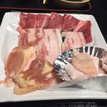 どんどこ湯 レストラン - 焼肉定食+入浴 1600円