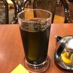 菊竹珈琲堂 - ◆アイスコーヒー(+50円) 香ばしさと旨みを感じる美味しい品。