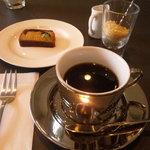 テオレマカフェ - 0607 ランチ コーヒーとイチジクのパウンドケーキ