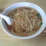 中国家庭料理 誠苑 - サンマー麺&半チャーハンのセット 840円