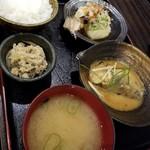 定食や - 料理写真:さば味噌定食(S) 850円