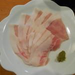85491270 - 六白黒豚の一人しゃぶ鍋