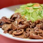 インドール - 豚肉しょうが焼@税込550円