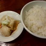 玉五郎 - 水餃子とライスのセット