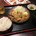 85492842 - 鶏生姜焼き定食 700円税込