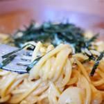 スパゲティながい - たらことウニとイカ