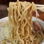 ラーメン二郎 - ラーメン・ニンニク(700円)