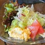 スキマカフェ - カレーに付いてるサラダ