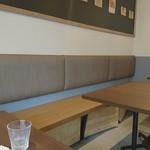 スキマカフェ - テーブル席