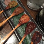 穂のか - 特製 焼味噌 五種