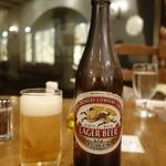 カフェ&スペイン料理 ヒラソル - 瓶ビール