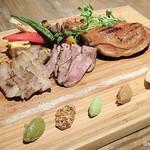 燻製バル モトカラ - 肉盛り合わせ レギュラー 2315円