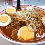 蒙古タンメン中本 - 味噌卵麺 880円