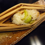 日本料理 子孫 - 料理写真:☆つと蒸しは穴子と銀杏がキラキラです☆
