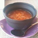 フレンチダイニング竜 - 冷製スープ