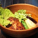 札幌ドミニカ - 手作りハンバーグスープカレー