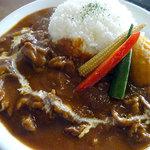 アプランティ - 料理写真:ラムハヤシライス1100円税込