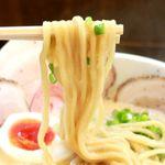 Mitsuba - 20180507豚CHIKIしょうゆチャーシューメン・麺リフト