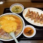 85501559 - 天津飯と餃子780円