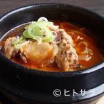 飛騨牛焼肉・韓国料理 丸明 - 赤テールスープ