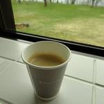 十和田プリンスホテル ロビーラウンジ - ドリンク写真:テイクアウトコーヒー
