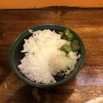 銀麺 - 炒飯頼んだのにライス(無料)も食う