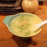 吾一 - ☆スープ 300円