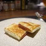 85510395 - トリュフとチーズと生ハムのサンドイッチめちゃウマ!