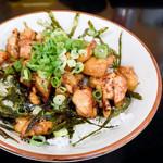 麺屋 空 - 鶏バター丼