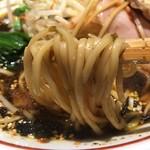 生姜醤油専門 我武者羅 - 麺