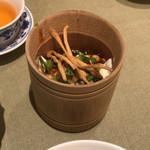 85513983 - ランチセットのやわらか手作り豆腐。