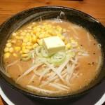 あすなろラーメン - 料理写真:味噌バターコーンラーメン(760円)