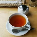 円山ぱんけーき - 紅茶。