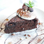 カフェ&バル 掌 - チョコレートクラッシック(ガトーショコラ)