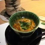 日本料理 潤花 - 桜えびの茶わん蒸し