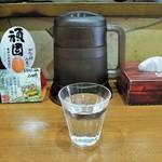 池田麺彩 - お冷