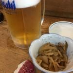 らかん寿し 松月 - まずはビールから~