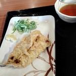 丸亀製麺 - いわし天140円