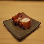 鮨 縁 - 下津井のたこをさっと塩茹でにして。とても柔らか。