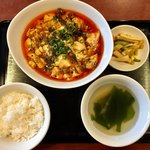 四川料理 蜀彩 - 麻婆豆腐ランチ 970円