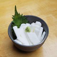カラッと - 山芋短冊 350円