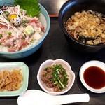 まるわ食堂 - 海鮮日替わり丼(ねぎとろ)980円