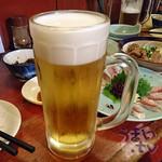 傳八 - 生ビール 290円+税