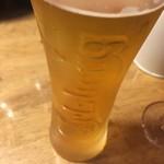 TEPPAN WINE BAR 大阪ばある - カールスバーグ(*´ω`*)生ビール