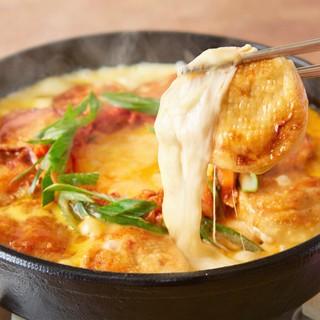 オリジナル韓国料理「チーズマンドゥ」